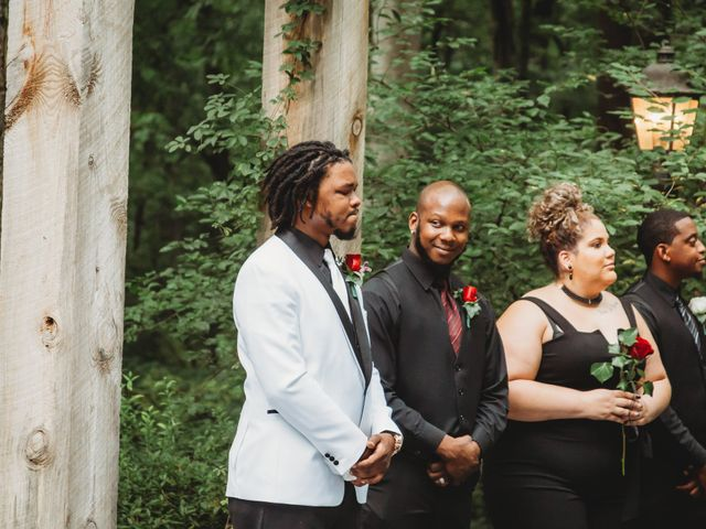 Al'Janir and Shania's Wedding in Powhatan, Virginia 42