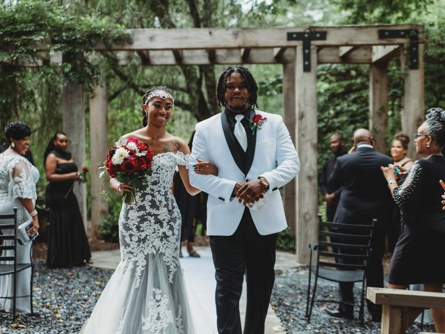 Al'Janir and Shania's Wedding in Powhatan, Virginia 43