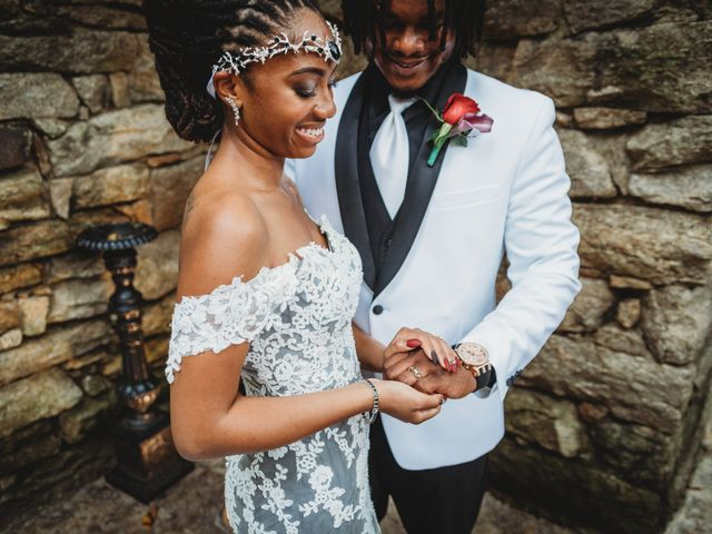 Al'Janir and Shania's Wedding in Powhatan, Virginia 51