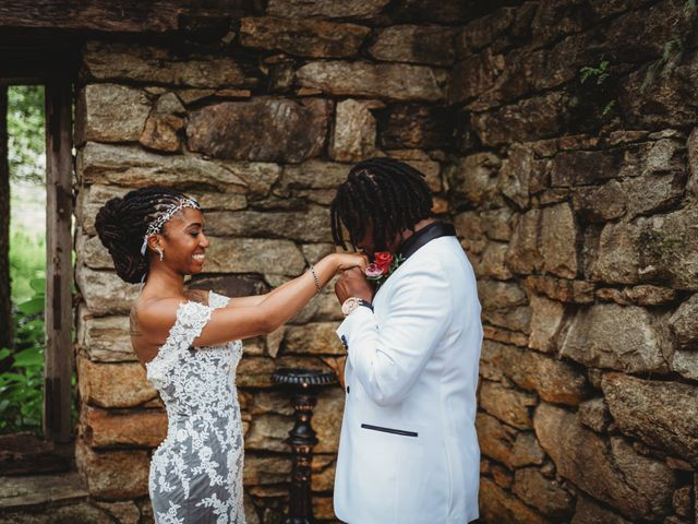 Al'Janir and Shania's Wedding in Powhatan, Virginia 52