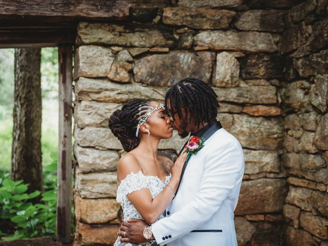 Al'Janir and Shania's Wedding in Powhatan, Virginia 53