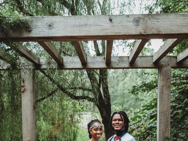 Al'Janir and Shania's Wedding in Powhatan, Virginia 54