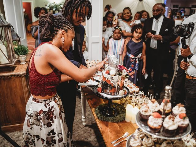 Al'Janir and Shania's Wedding in Powhatan, Virginia 62