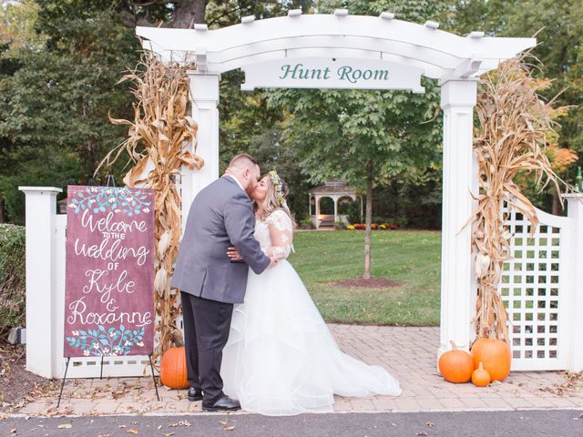 The wedding of Roxanne and Kyle