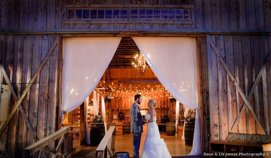 Nathan and Elizabeth's Wedding in Elma, New York