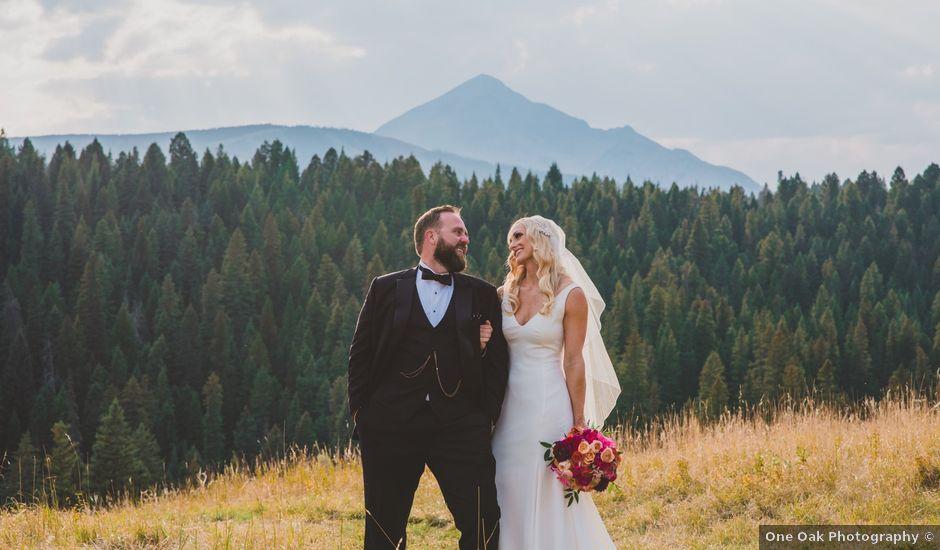 Laura and Stephen's Wedding in Big Sky, Montana