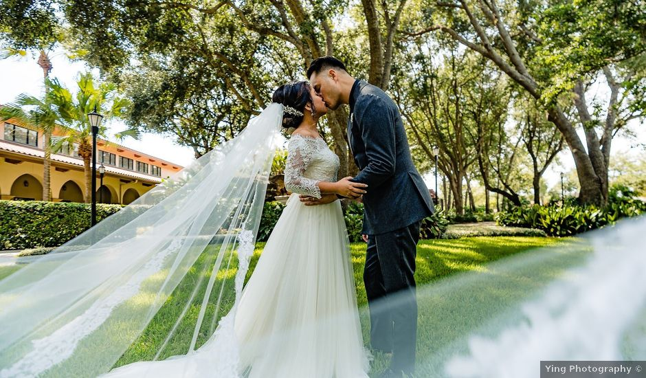 Quoc and Christine's Wedding in Orlando, Florida