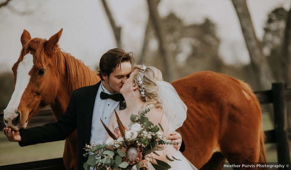Andrew and Brittany's Wedding in Tomball, Texas