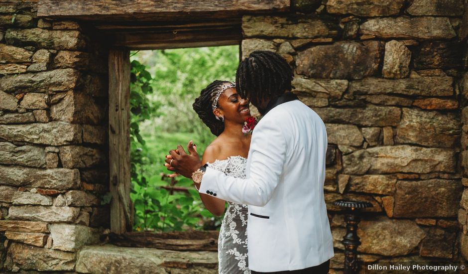 Al'Janir and Shania's Wedding in Powhatan, Virginia