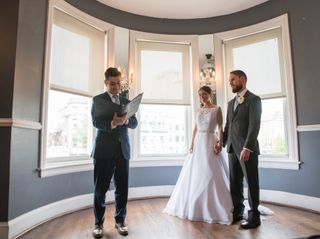 The wedding of Jules and Eric 1