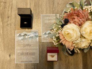 The wedding of Haley and Matthew 2