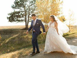 The wedding of Haley and Matthew