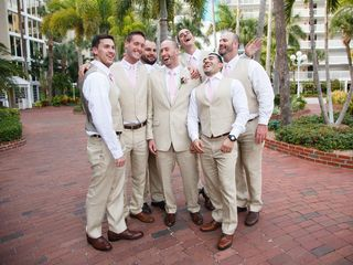 Erin and Adam's Wedding in Saint Petersburg, Florida 3