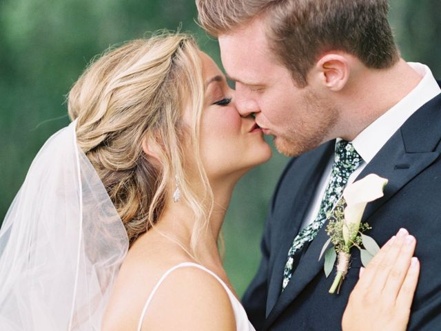The wedding of Allison and Brennen