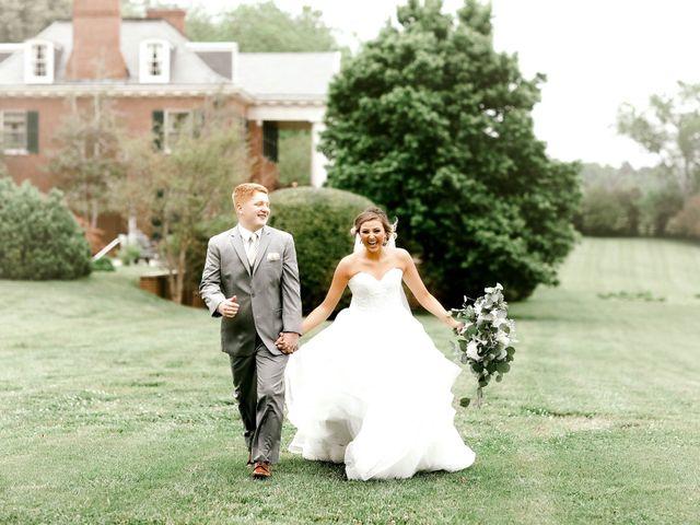 The wedding of Corbin and Rachel