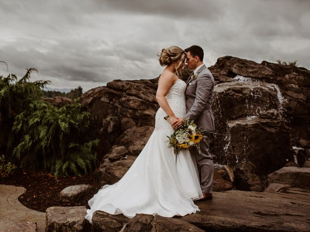 The wedding of Matthew and Braelyn