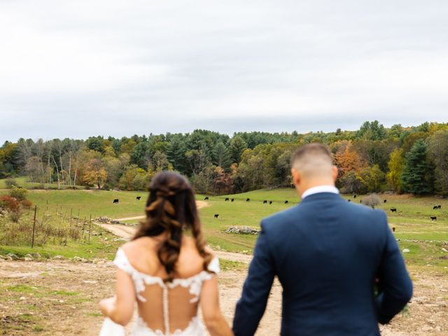 Jake and Melissa's Wedding in West Brookfield, Massachusetts 32