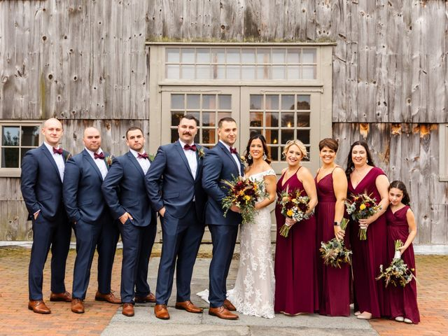 Jake and Melissa's Wedding in West Brookfield, Massachusetts 42
