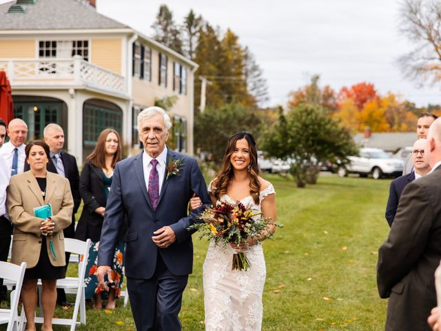 Jake and Melissa's Wedding in West Brookfield, Massachusetts 49