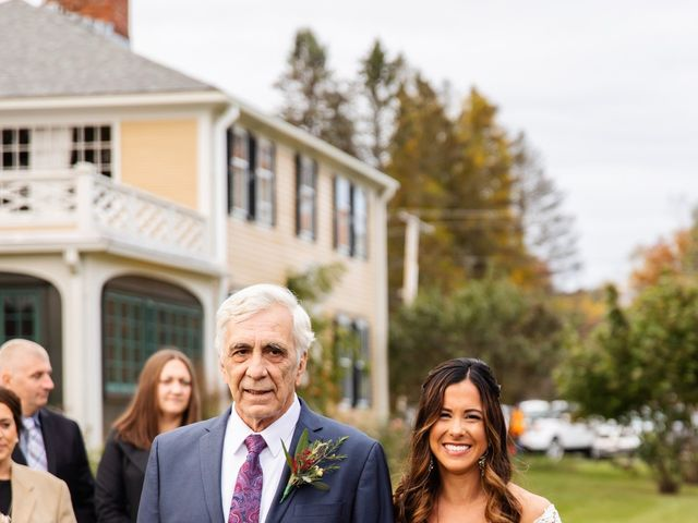 Jake and Melissa's Wedding in West Brookfield, Massachusetts 50