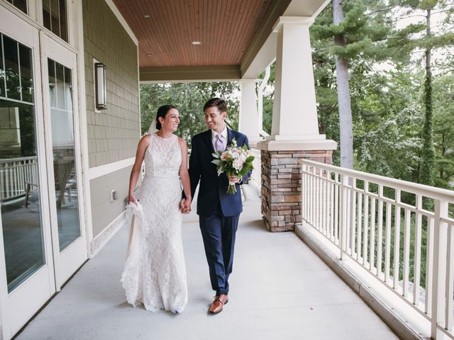 The wedding of Trevor and Lucia