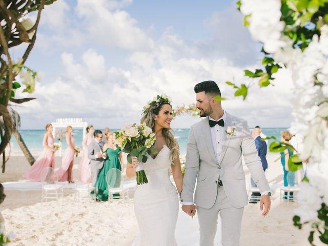 Romel and Claudia's Wedding in Punta Cana, Dominican Republic 36