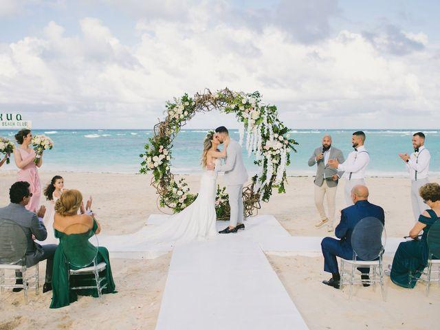 Romel and Claudia's Wedding in Punta Cana, Dominican Republic 37