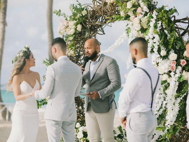 Romel and Claudia's Wedding in Punta Cana, Dominican Republic 39