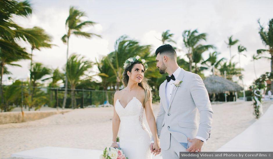 Romel and Claudia's Wedding in Punta Cana, Dominican Republic