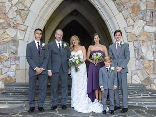 The wedding of Janie and Michael 1