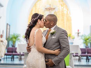 The wedding of Zahira and Luigi