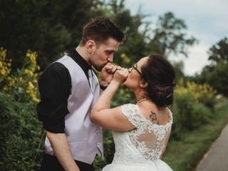The wedding of DeNina and Josh