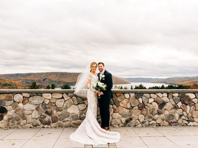 Mallory and Rob's Wedding in Canandaigua, New York 24