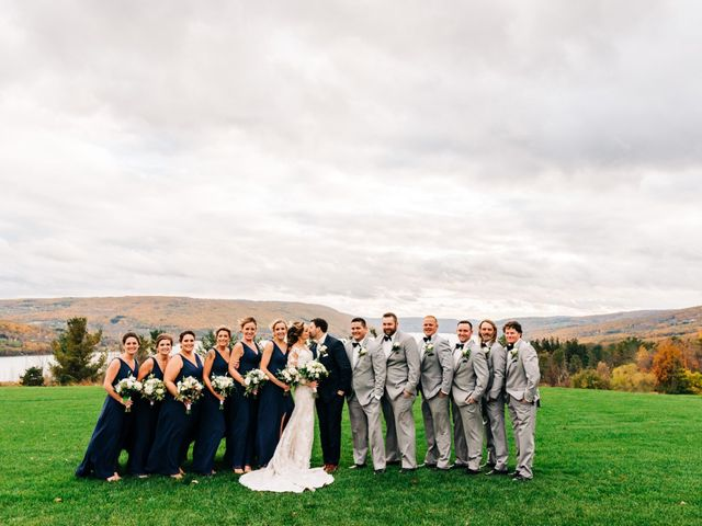 Mallory and Rob's Wedding in Canandaigua, New York 28