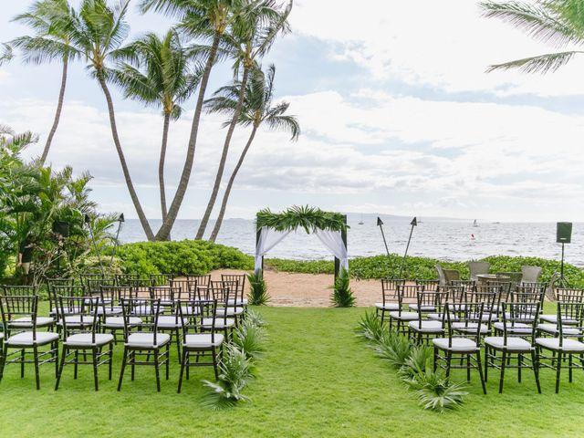 Donald and Kirby's Wedding in Kihei, Hawaii 6