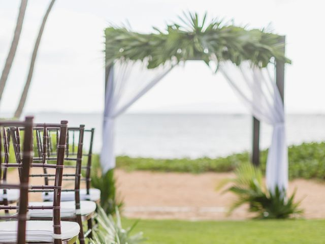 Donald and Kirby's Wedding in Kihei, Hawaii 49