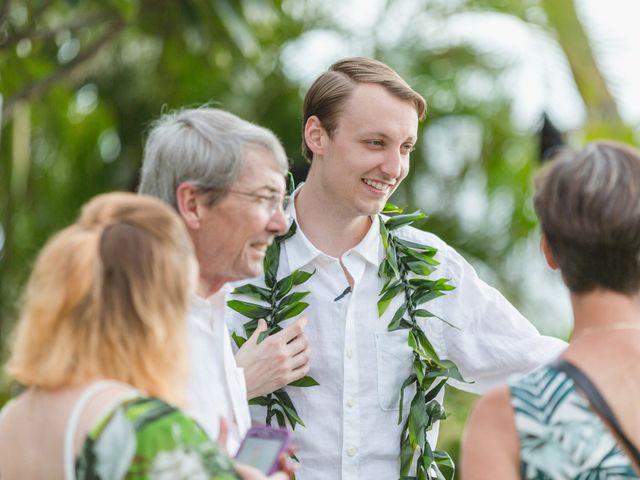 Donald and Kirby's Wedding in Kihei, Hawaii 50