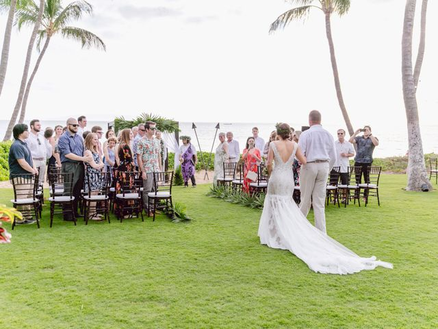 Donald and Kirby's Wedding in Kihei, Hawaii 53