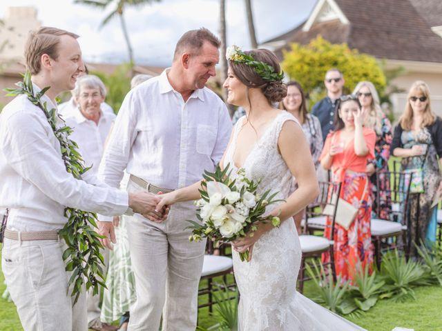 Donald and Kirby's Wedding in Kihei, Hawaii 55