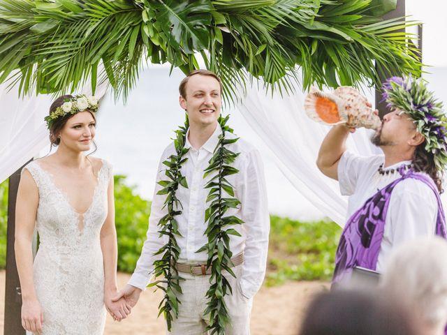 Donald and Kirby's Wedding in Kihei, Hawaii 56