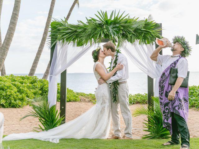 Donald and Kirby's Wedding in Kihei, Hawaii 68