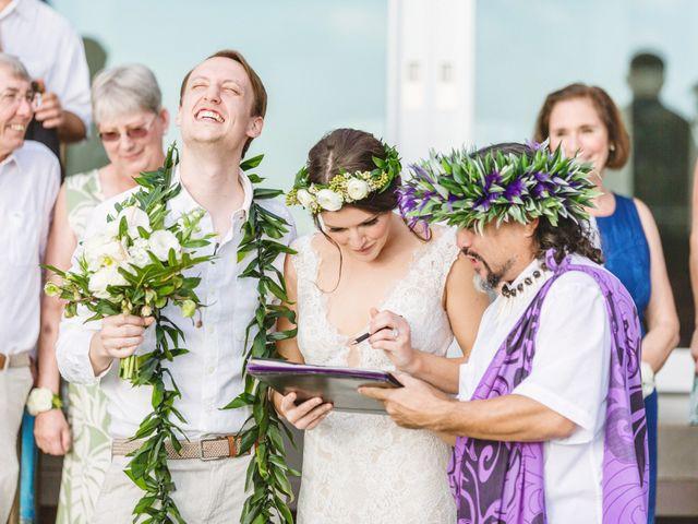 Donald and Kirby's Wedding in Kihei, Hawaii 71