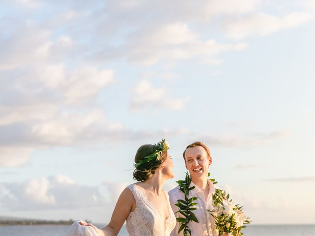 Donald and Kirby's Wedding in Kihei, Hawaii 76
