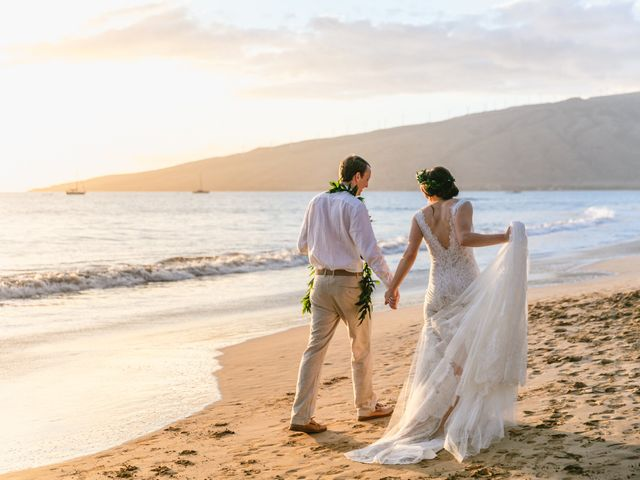 Donald and Kirby's Wedding in Kihei, Hawaii 77