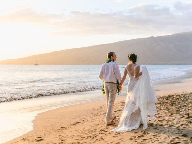 Donald and Kirby's Wedding in Kihei, Hawaii 78