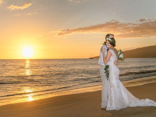 Donald and Kirby's Wedding in Kihei, Hawaii 88