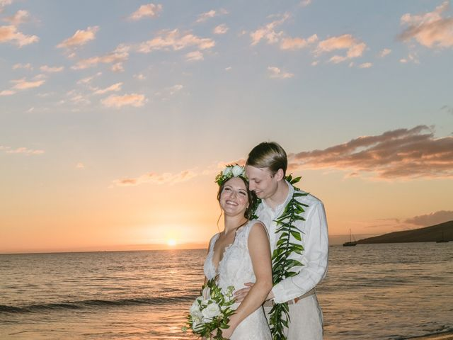 Donald and Kirby's Wedding in Kihei, Hawaii 94