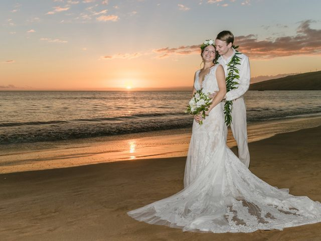 Donald and Kirby's Wedding in Kihei, Hawaii 95
