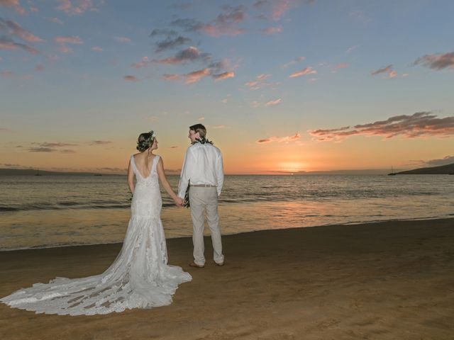 Donald and Kirby's Wedding in Kihei, Hawaii 99
