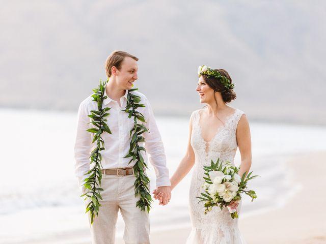 Donald and Kirby's Wedding in Kihei, Hawaii 100